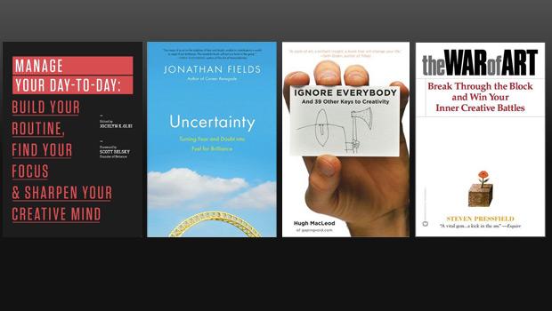 4 ksiazki o kreatywnosci